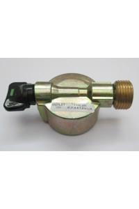 Adaptateur bouteille clipsable à sortie gaz classique