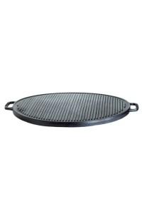 plaque de cuisson ronde double face 45 cm