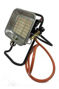Chauffage gaz radiant avec socle et sécurité CO2