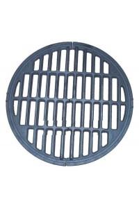 Grille en fonte pour poêle ou cheminée 490 mm