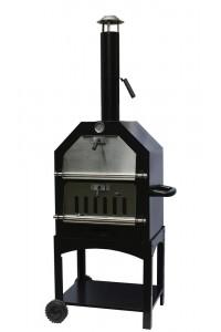 Barbecue four à bois pour pizza