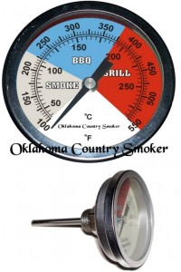 Oklahoma thermomètre pour four/fumoir