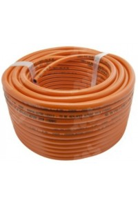 Rouleau flexible gaz orange PVC 8 mm