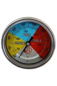 Thermomètre barbecue étanche réglable